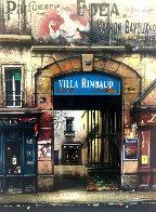 Fabrique De Faience And Villa Rimbaud: Passages De Paris, Suite of 2 AP 1997  Limited Edition Print by Thomas Pradzynski - 1
