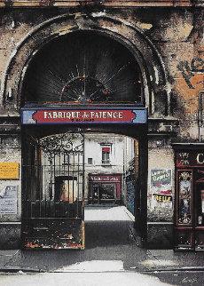 Fabrique De Faience And Villa Rimbaud: Passages De Paris, Suite of 2 AP 1997  Limited Edition Print - Thomas Pradzynski