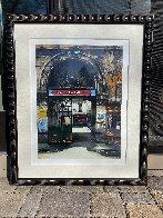 Fabrique De Faience And Villa Rimbaud: Passages De Paris, Suite of 2 AP 1997  Limited Edition Print by Thomas Pradzynski - 3