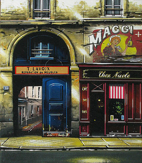 Fenetres De Paris: Suite of 3  1997 Limited Edition Print by Thomas Pradzynski
