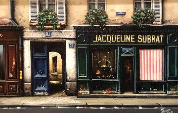 Jacqueline Subrat 15x23    Original Painting by Thomas Pradzynski