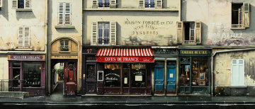 Caves De France AP Huge Limited Edition Print - Thomas Pradzynski