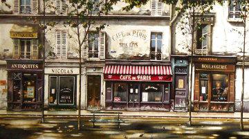 Cafe De Paris 1993 Deluxe Limited Edition Print - Thomas Pradzynski