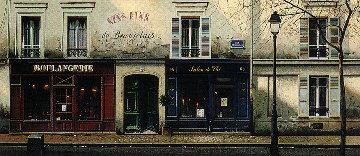 Twilight on Rue de Mondrian 1992 Limited Edition Print by Thomas Pradzynski