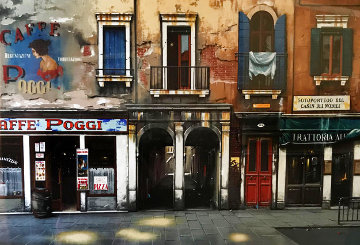 Caffe Poggi AP 2002 Limited Edition Print - Thomas Pradzynski