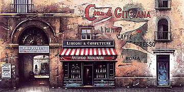 Cafè Gitana Roma 1996 Limited Edition Print - Thomas Pradzynski