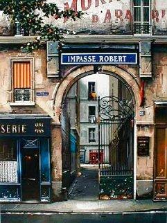 L'impasse Robert 2000 Limited Edition Print - Thomas Pradzynski