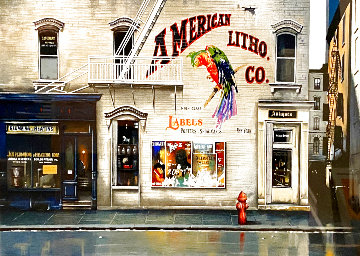 American Suite: New York and San Francisco - Suite of 2 Limited Edition Print - Thomas Pradzynski