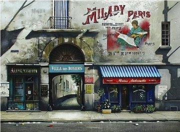 Villa Des Rosiers AP 1996 Limited Edition Print - Thomas Pradzynski