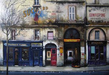 Rue St. Anne 1997 Limited Edition Print - Thomas Pradzynski