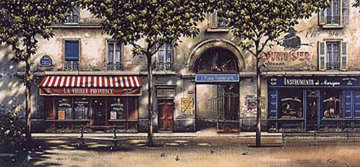 La Vieille Provence 1996 Limited Edition Print - Thomas Pradzynski