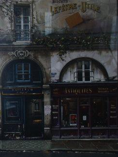 Lumieres De Paris  Suite of 2 1994 Limited Edition Print - Thomas Pradzynski