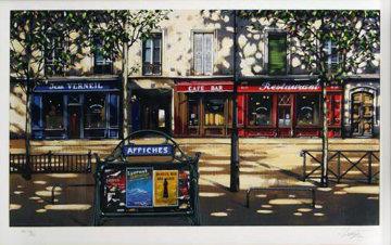 Boulevard Jean Verneil Limited Edition Print - Thomas Pradzynski
