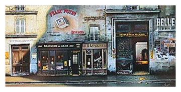 Artisans Du Marais 1995 Limited Edition Print - Thomas Pradzynski