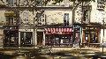 Cafe De Paris Limited Edition Print - Thomas Pradzynski