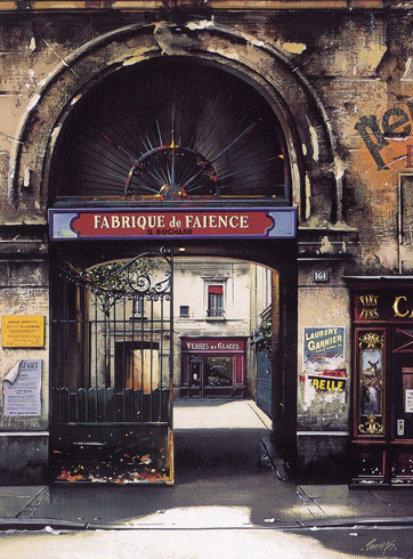 Fabrique De Faience 1997 Limited Edition Print by Thomas Pradzynski