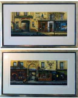 Fabrique De Jouets And Villa D'anvers, Suite of 2 Limited Edition Print - Thomas Pradzynski