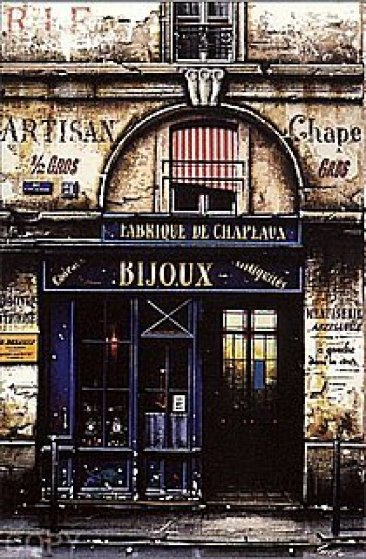 Le Bijoux from Clair de Lune Suite 2000 Limited Edition Print by Thomas Pradzynski