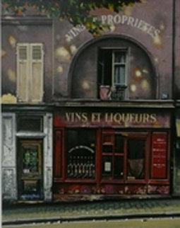 Marchand De Vin 1995 Limited Edition Print by Thomas Pradzynski