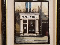 La Pharmacie En Blanc 1991 24x27 Original Painting by Thomas Pradzynski - 1