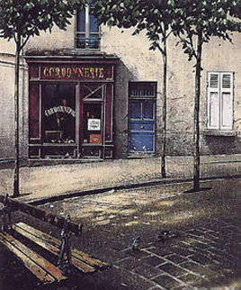 Cordonnerie Limited Edition Print - Thomas Pradzynski