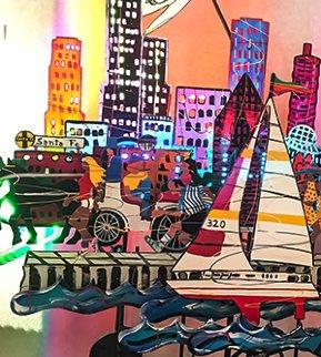 Chicago  Steel Sculpture 1989 78x26 Sculpture - Frederick Prescott