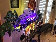 Loving Opus Winery Metal Unique Sculpture 2011 70 in Super Huge Sculpture by Frederick Prescott - 4