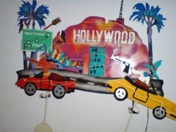 Hollywood Freeway Kinetic Sculpture 1990 Sculpture - Frederick Prescott