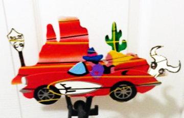 Route 66 Kinetic Sculpture 1991 Sculpture - Frederick Prescott