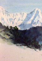 Annapurna Nepal 1992 Limited Edition Print by  Prince Charles - 1