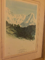 Annapurna Nepal 1992 Limited Edition Print by  Prince Charles - 2