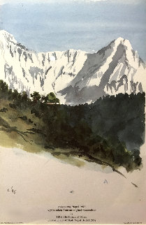 Annapurna Nepal 1992 Limited Edition Print -  Prince Charles