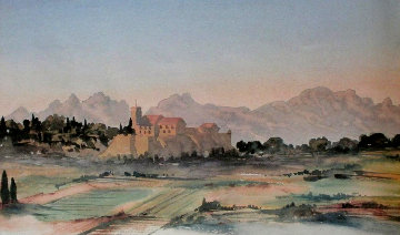 View in South of France 2002 Limited Edition Print -  Prince Charles