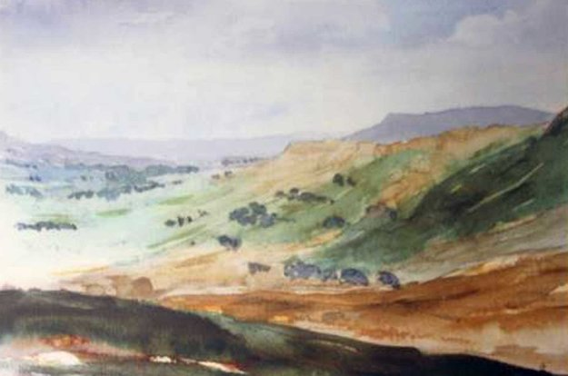 Wensleydale 1990 Limited Edition Print by  Prince Charles