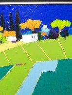 European Landscape 2011 37x39 Original Painting by Adrian  Prisecaru - 4