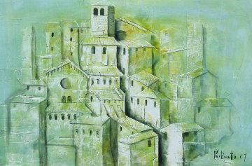 La Botega, Spello, Italy 1967 Original Painting - Norberto Proietti