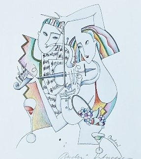 Jazz Couple 2001 Limited Edition Print - Andrei Protsouk