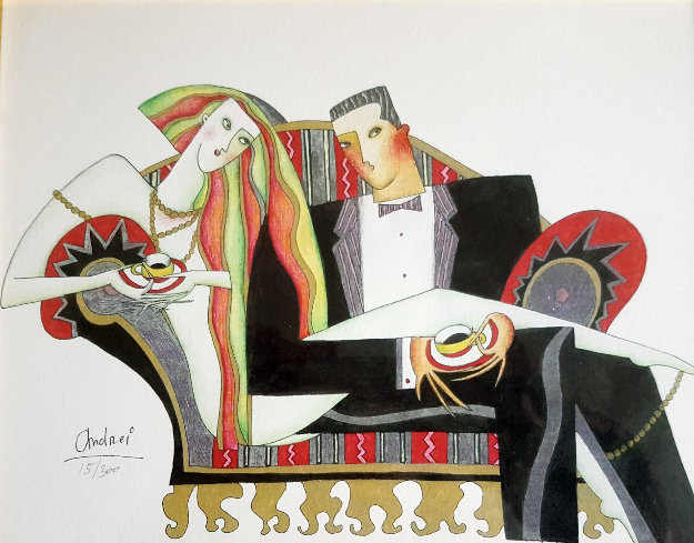 Coffee 2002 Limited Edition Print by Andrei Protsouk