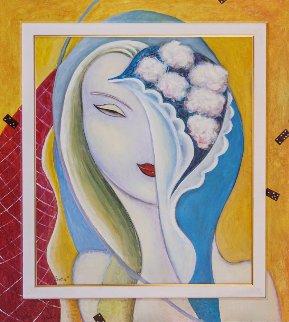 Layla 2016 41x37 Original Painting - Andrei Protsouk