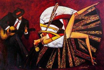 Tango Flamenco 2017 Embellished Limited Edition Print - Andrei Protsouk