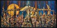 Empire Cocktails 2016 34x70 Super Huge Original Painting by Andrei Protsouk - 1