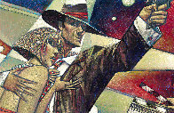 Blockbuster Hero 2012 32x49 Super Huge Original Painting by Andrei Protsouk - 0
