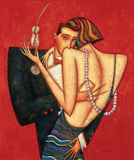 Pearls of Love 2014 38x32 Limited Edition Print by Andrei Protsouk