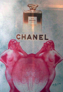 Chanel Unique 36x24 Original Painting - Pietro Psaier