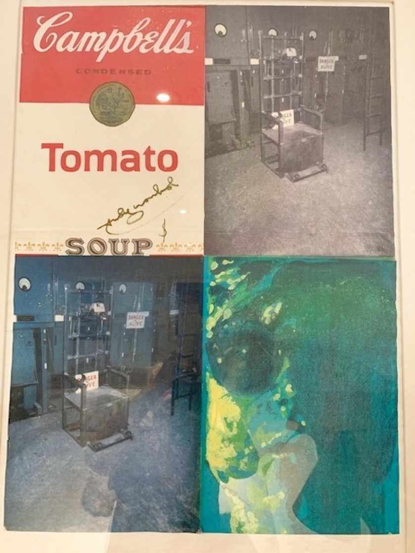 Tomato Soup-Electric Chair Limited Edition Print by Pietro Psaier