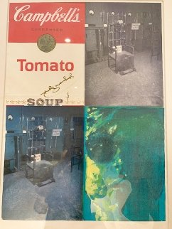 Tomato Soup-Electric Chair Limited Edition Print - Pietro Psaier