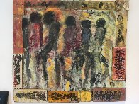 Untitled Painting 1979 44xx48 Original Painting by Purvis Young - 2