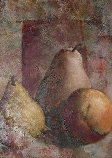 Pears 2002 40x30 Original Painting - Alicia Quaini