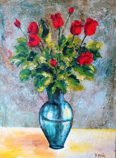 Rojas 2006 52x41 Original Painting - Alicia Quaini
