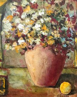 Side Fruit 2002 40x34 Original Painting by Alicia Quaini